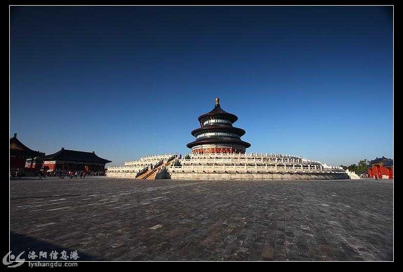 北京天坛与洛阳唐代明堂